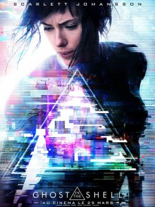 Affiche du film Ghost in the Shell de 2017