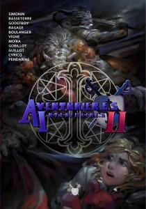 Couverture de l'anthologie Aventurier.e.s Intérimaire.s 2